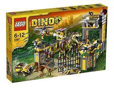 LEGO DINO 5887 QUARTIER GENERALE DE LA DEFENSA DINOSAURIOS NUEVO NEW RARITA'
