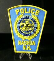 Patch Retired: Nashua New Hampshire Police Patch