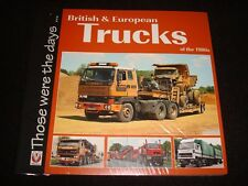 BRITISH & EUROPEAN TRUCKS OF THE 1980s VELOCE P/B NEW & SEALED