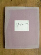 Henri Breuil ,fondation Singer Polignac 1967, notes et dessins originaux