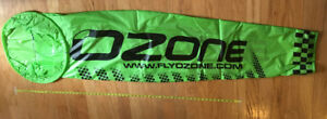 Extra Large Ozone Wind Sock for Paramotoring and Paragliding, Green color
