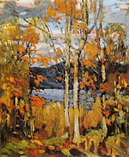 Algonquin October  by Tom Thomson  Giclee Canvas Print Repro