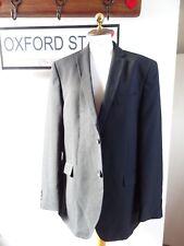 TAILOR & CUTTER polyester black lined smart light weight jacket/blazer size 44R
