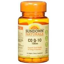 Sundown Naturals Co Q-10 100 MG Softgels 40 Count