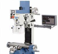 BERNARDO KF 25 D Vario inkl. 2-Achs Digitalanzeige Bohr-Fräsmaschine