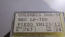 Replacement STYLUS / Needle 767 for Columbia dsn-50 Piezo YM123/124 NEC LP-70D