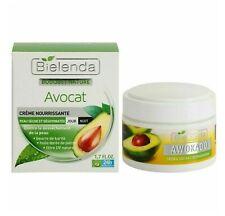 Bielenda Avocado Moisturising Nourishing Face Cream Dry Skin Day/Night 50ml