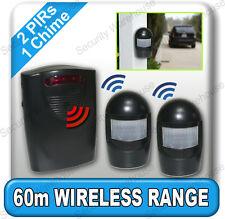 A9bb WIRELESS Viale alert Gong WEATHERPROOF PIR Movimento Sensore Allarme GARAGE