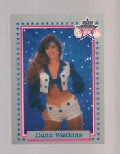 1992 Enor Dallas Cowboys Cheerleaders #38 Dana Watkins card