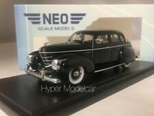 NEO SCALE MODELS 1/43 GRAHAM 97 SUPERCHARGER 4-DOOR SEDAN 1939 ART. NEO46565