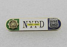 Uniform Citation Bar NYPD 150th Anniversary Bar (1845-1995) of the NYPD