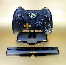 Zelda PowerA Controller + Custom Display Stand Game Holder for Nintendo Switch