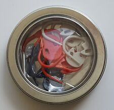 Tulip Locking Stitch Marker Set-High Quality from Japan-Navy White OrangeAC-032e