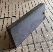 """Steel Plate 4 3/4"""" X 11 1/4"""" X 1"""" THICK Plate Blacksmith Shooting Target Plate."""