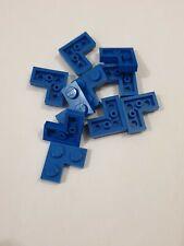 Lego blue plate 2x2 corner(2420),10 parts