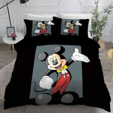 Mickey Mouse Bedding Set, Funny Cartoon Quilt Bedding Set