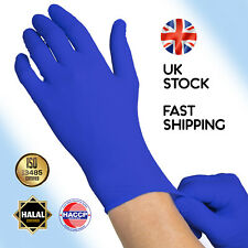 Nitrile Latex Vinyl Rubber Disposable Gloves L M Large Medium Powder Free HERMES