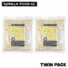 Gorilla Food Co. Gluten Free Rolled Oats - 2 x 2Lbs (Twin Pack)