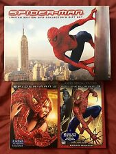 Spider-Man Limited Edition DVD Collector's Gift Set Lot Autographed Sam Raimi
