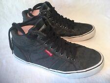 Levi's Men's Shoes Mid Boots Size US 8 UK 7 Black Gray 51727401A