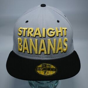 *Deadstock* New Era STRAIGHT BANANAS Andy Warhol Banana 59Fifty Fitted Hat Cap
