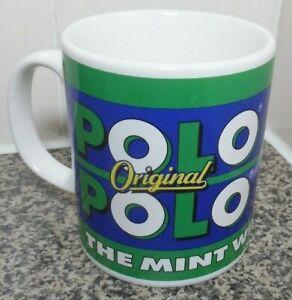 ORIGINAL POLO MINTS SPEARMINT POLO MUG CUP MINT WITH A HOLE CONFECTIONARY SWEETS