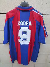 VINTAGE Maillot BARCELONE BARCELONA camiseta KODRO n°9 football L Barça shirt