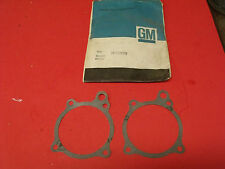 NOS 63-80s Chevrolet 6-Cyl 194 230 250 292 L6 Water Pump Gaskets 3788478 (qty 2)