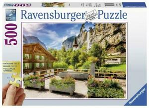 Ravensburger - Lauterbrunnen Switzerland Puz Puzzle 500pc