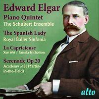 Xue Wei / Schubert E - Elgar: Piano Quintet; Spanish Lady Suite [New CD]