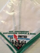 OA 2012 NOAC Brotherhood Chorus And Band Mint Embroidered Neckerchief In The Bag