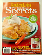 Southern Living: Our Test Kitchen Secrets Magazine 2009/2010