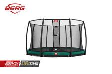 Berg Inground Champion Green 330 11ft Kids Round Trampoline Safety Net Deluxe