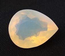 TOP : Echter Weißer Feuer Opal 12,12 Ct VVS Reinheit mit Orange Flash aus Mexiko