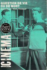 L'Avant-Scène Cinéma N° 258 Décembre 1980 - Question de Vie ou de Mort M. Powell