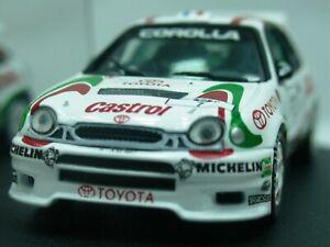 WOW EXTREMELY RARE Toyota Corolla WRC 7 Auriol Finland 1997 1:43 Vitesse-HPI