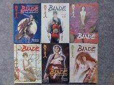 Blade of the Immortal 1-6 Manga Book Lot Series Japan Comic Graphic Novel Anime