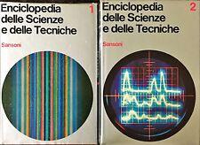 ENCICLOPEDIA DELLE SCIENZE E DELLE TECNICHE - Sansoni 1967 - 2 VOLUMI