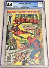 Spectacular Spider-Man #1 12/76 CGC 8.0 ow/w pgs (1st issue, 2nd Spidey series)
