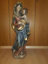 Madonna mit Kind holz geschnitzt,Gross!90cm!Holz Skulptur  Maria mit Jesus Kind