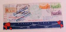 CHINA FLIGHT REGISTERED SHANGHAI 1937 HONG KONG SAN FRANCISCO APRIL 26