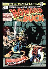 Howard the Duck #1 Fine Frank Brunner, Spider-Man X-Over