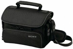 Sony LCS-U10 Soft Carrying Case for Camcorder (Black)