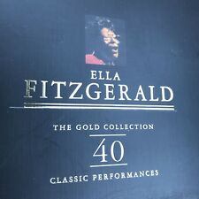 Ella Fitzgerald - The Gold Collection - 2CD Greatest Hits Best Of on Gold Discs