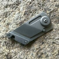 EDC GEAR stainless steel Blade Utility Multi Pocket Knife Mini Key Chain