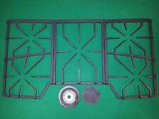 New listing Ge Monogram Zgu385Nsmss Grates & Center Burner for 36 Inch 5 burner Gas Cooktop