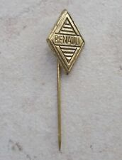 RENAULT France Automobilia Hat Pin Lapel Pin Tie Tac Hatpin Pins 1960