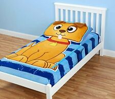 ZippySack Puppy Twin Size Zip It Bedding Fitted Mattress Sleeping Bag Dog Print