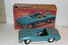 VINTAGE 1970'S TOPPER TOYS DAWN BLUE CONVERTIBLE ACTION CAR