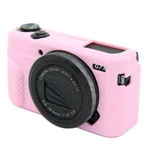 Soft Silicone Camera Bag Protection Cover Case For Canon G7XII G7XⅢ G7X Mark II